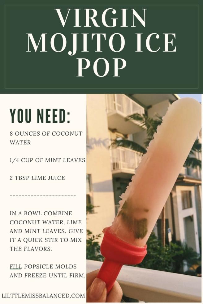 Virgin Mojito Ice Pop