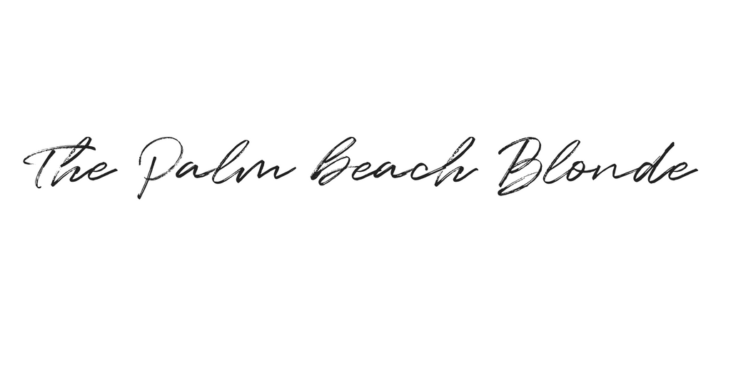 The Palm Beach Blonde